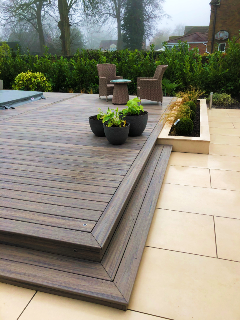 Patio and decking 1h